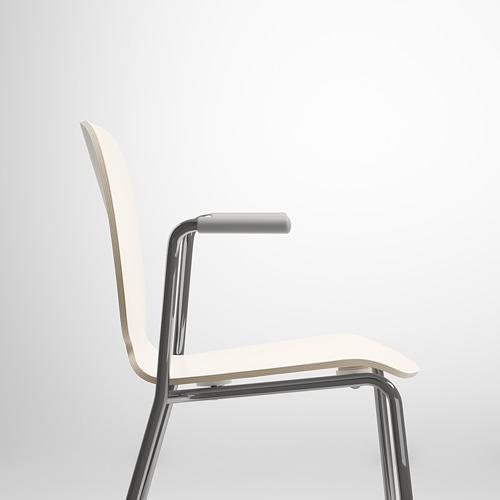 SVENBERTIL silla con reposabrazos