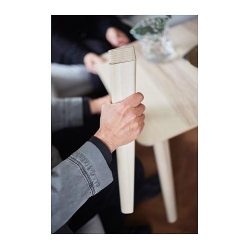 """RÖNNINGE/LISABO mesa con 4 sillas, longitud de la mesa 55 1/8"""""""