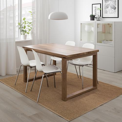 """LEIFARNE/MÖRBYLÅNGA mesa con 4 sillas, longitud de la mesa 55 1/8"""""""