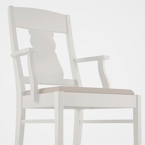"INGATORP/INGATORP mesa con 4 sillas, diámetro de la mesa 43 1/4 """