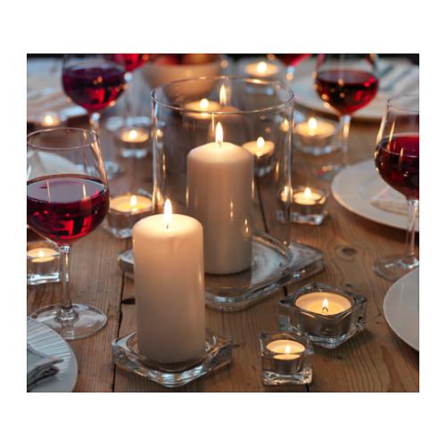 GLASIG candle dish