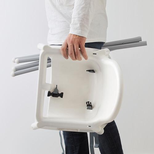 ANTILOP silla alta+cinturón de seguridad