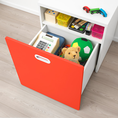 FRITIDS/STUVA toy box with wheels