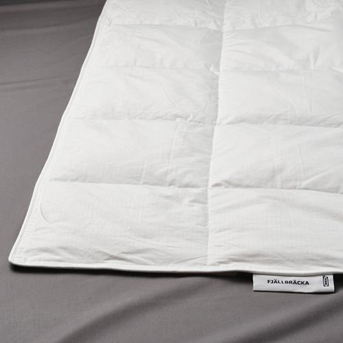 FJÄLLBRÄCKA comforter, light warm