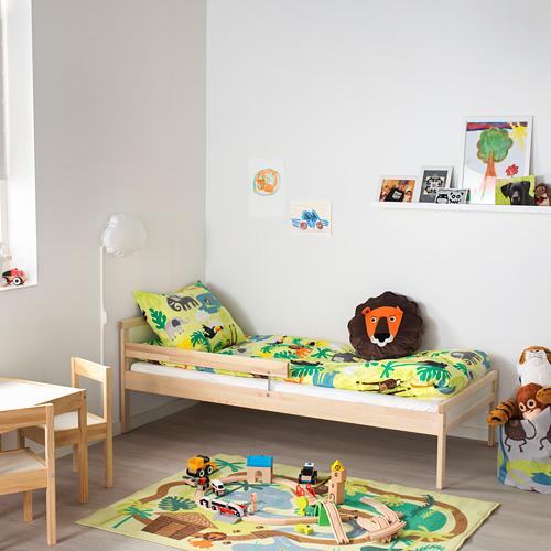 SNIGLAR Cama + tablillas LURÖY