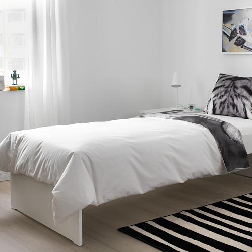 URSKOG duvet cover and pillowcase(s)