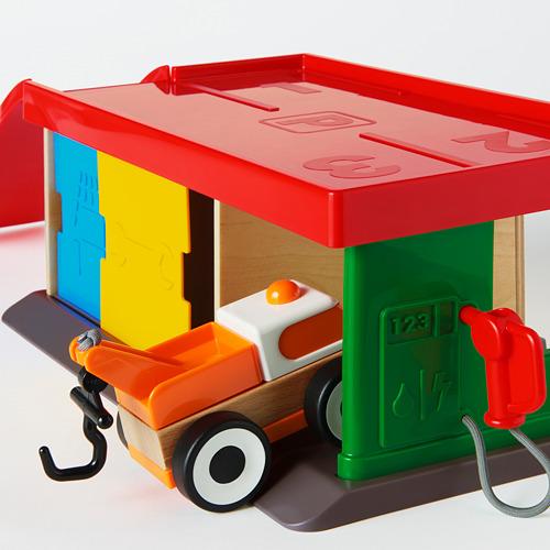 LILLABO garaje con grúa