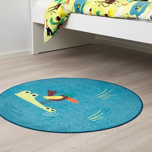 DJUNGELSKOG rug, flatwoven