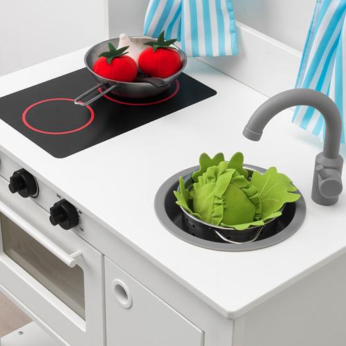 SPISIG mini cocina con cortinas