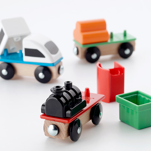 LILLABO juego de tren, 3 piezas