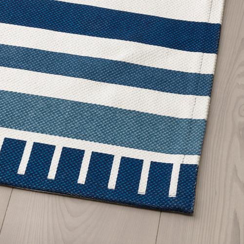 SÅNGLÄRKA alfombra de tejido liso
