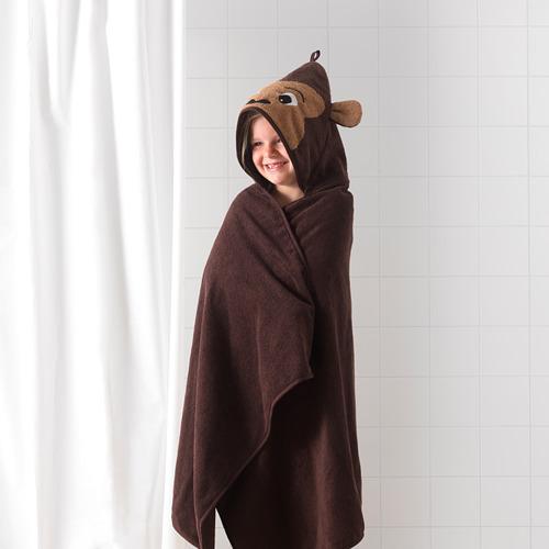 DJUNGELSKOG toalla con capucha