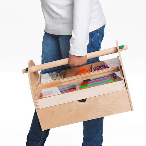LUSTIGT almacenaje para manualidades