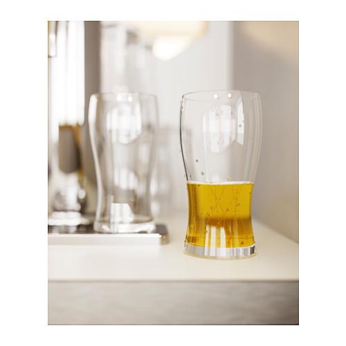 LODRÄT beer glass
