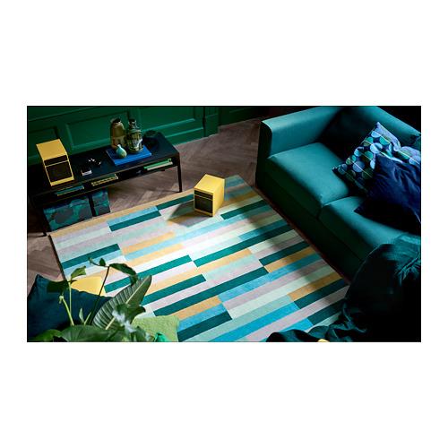 KRÖNGE rug, low pile