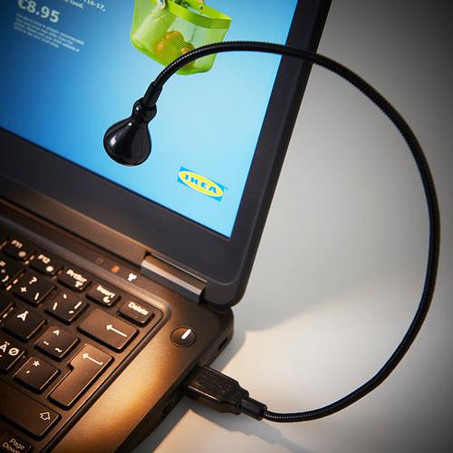 JANSJÖ lámpara LED USB