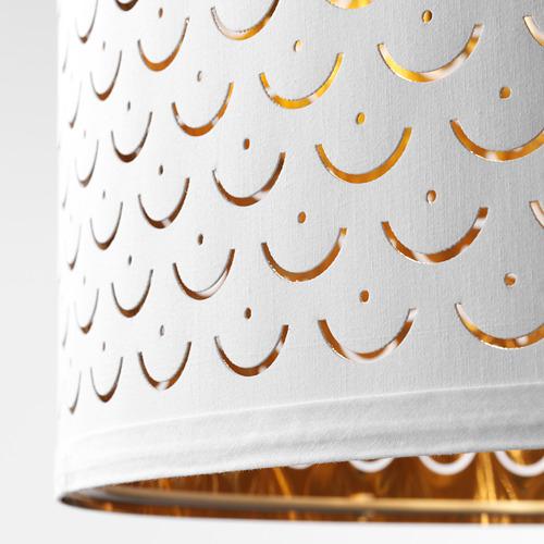 NYMÖ/SKAFTET lámpara de piso, arco