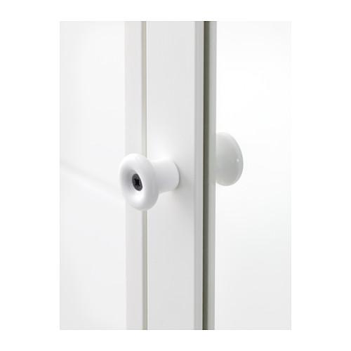 SILVERÅN armario alto con puerta de espejo