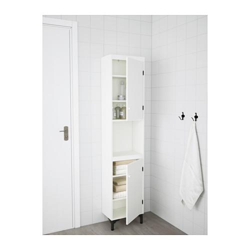 SILVERÅN armario alto con 2 puertas