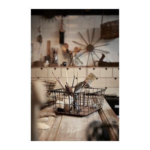 PLEJA wire basket with handle