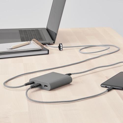 """ÅSKSTORM cargador USB 40W, largo del cable 4 ' 11 """""""