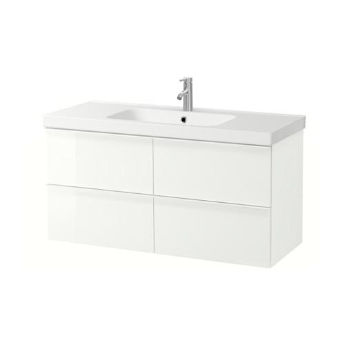ODENSVIK/GODMORGON armario para lavamanos con 4 gavetas, juego de 2
