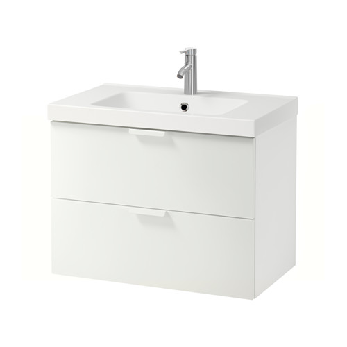 ODENSVIK/GODMORGON armario para lavamanos con 2 cajones, juego de 3