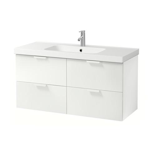 ODENSVIK/GODMORGON armario para lavamanos con 4 gavetas, juego de 3