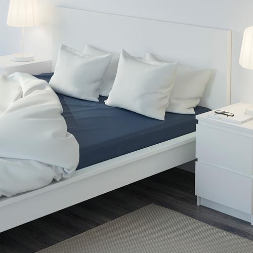 ULLVIDE sábana ajustable, 200 hilos, full