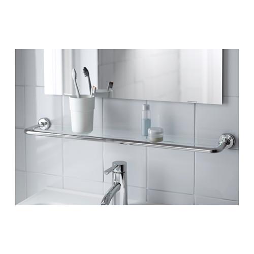 VOXNAN glass shelf