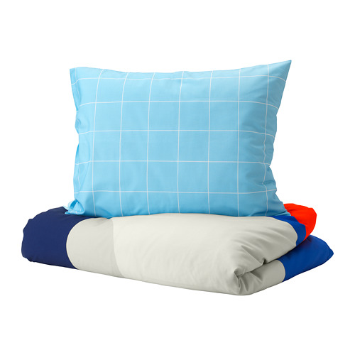 MÖJLIGHET duvet cover and pillowcase(s)