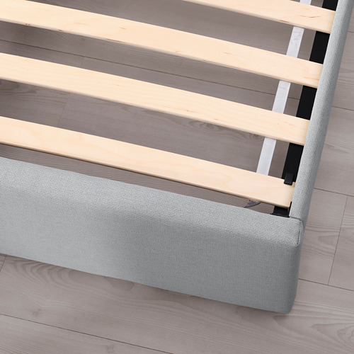 GLADSTAD upholstered bed frame