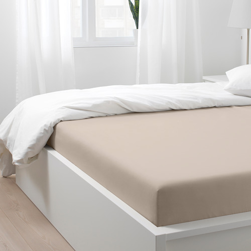NATTJASMIN sábana ajustable 310 hilos, full