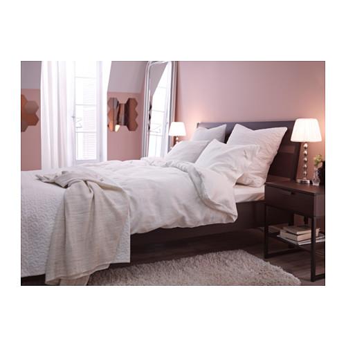 TRYSIL estructura de cama, queen