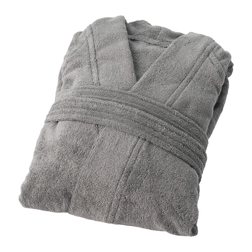 ROCKÅN bata de baño, talla: S/M, peso: 380 g/m²