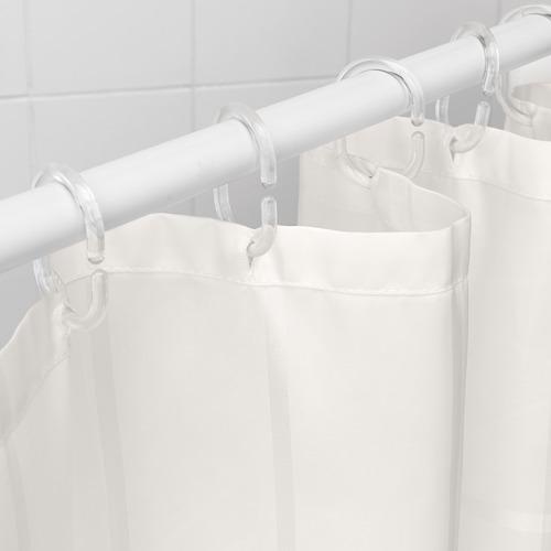 KLOCKAREN cortina de baño
