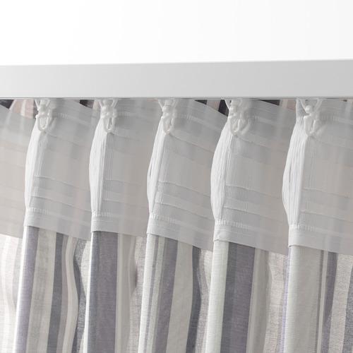 PRAKTKLOCKA cortinas, 1 par