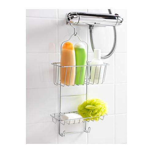 IMMELN soporte para ducha, 2 niveles