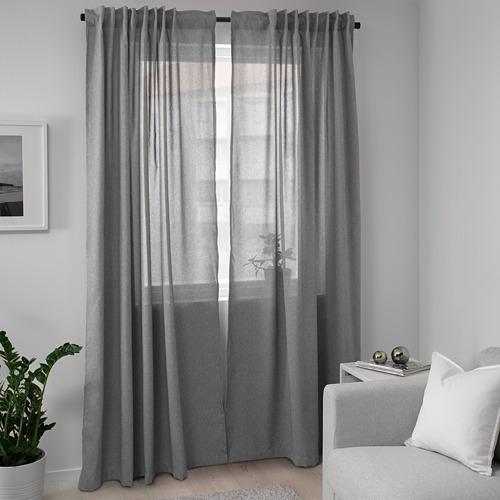 HANNALENA cortinas opacas, 1 par