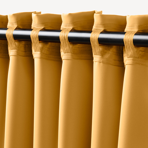 MAJGULL cortinas opacas, 1 par