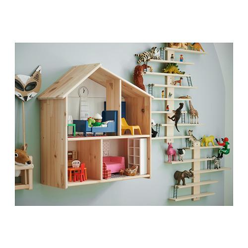FLISAT casa de muñecas/estante de pared