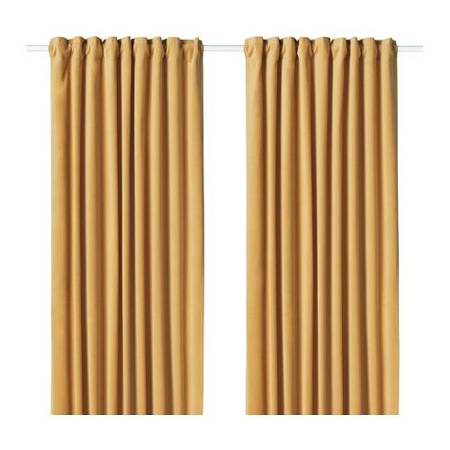 SANELA cortinas opacas, 1 par