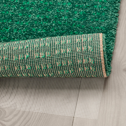 "LANGSTED alfombra, pelo corto, 4' 4""x 6' 5""x"