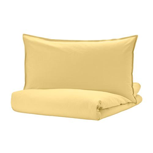 ÄNGSLILJA duvet cover and pillowcase(s)