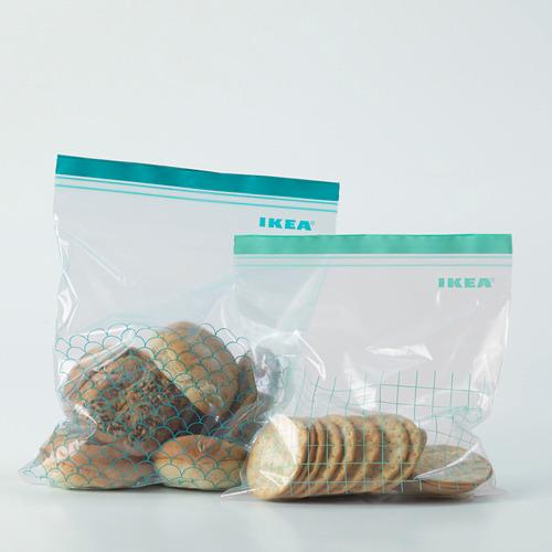 ISTAD bolsa resellable, 30 piezas