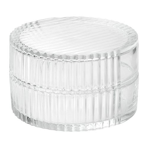 SAMMANHANG caja de vidrio con tapa