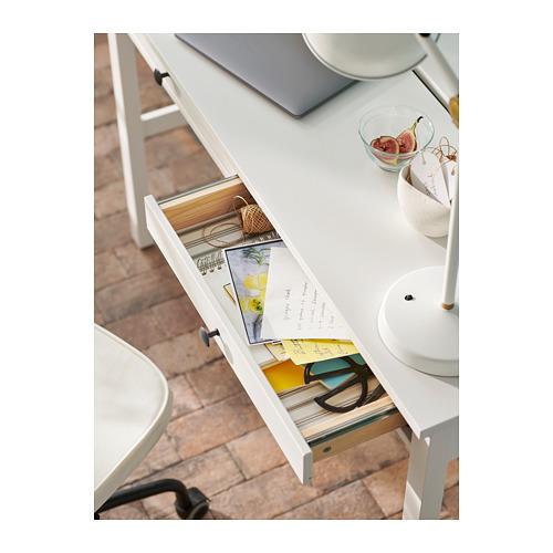 """HEMNES escritorio con 2 gavetas,47 1/4 """"x18 1/2 """""""