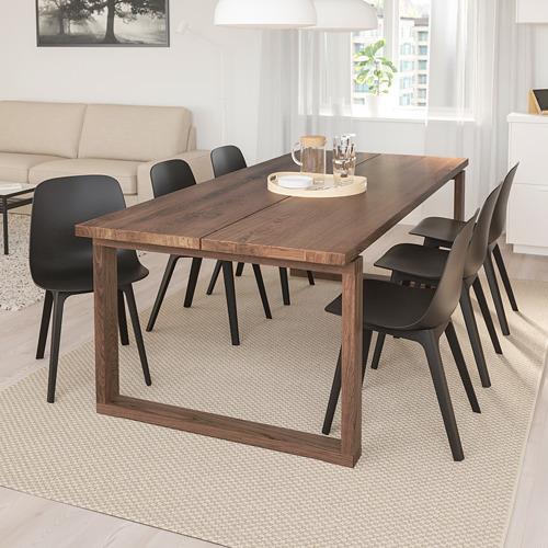 "ODGER/MÖRBYLÅNGA mesa y 6 sillas, longitud de la mesa 86 5/8"""