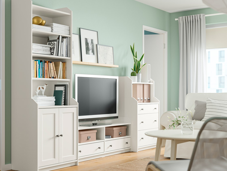 Our TOP storage furniture series
