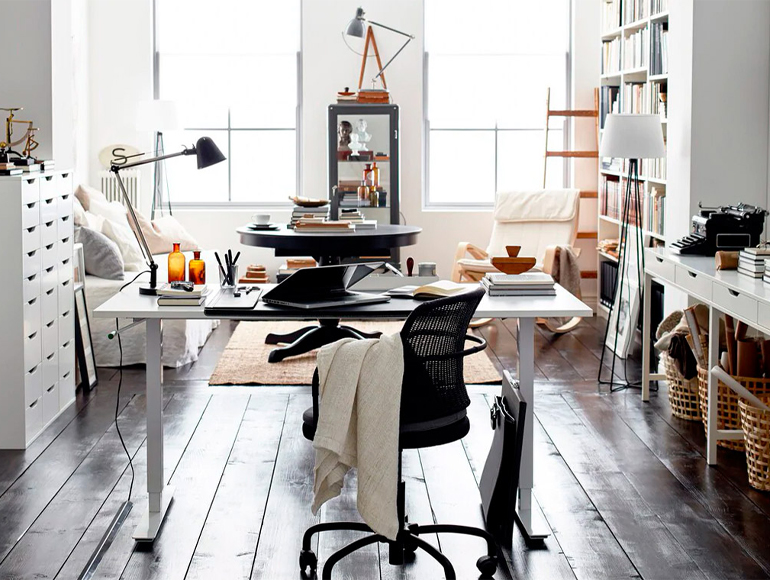 3 tricks to create a home workspace with lots of style